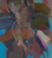 Moro. Acryl auf Leinwand. 110x100cm. 201
