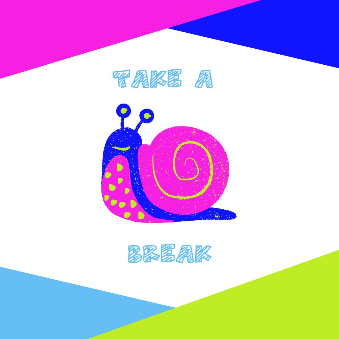 Take a Break - Snail Installation