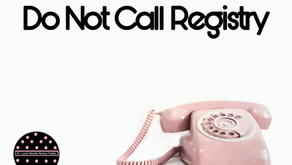 """Getting Smart With """"Do Not Call"""" Registry"""