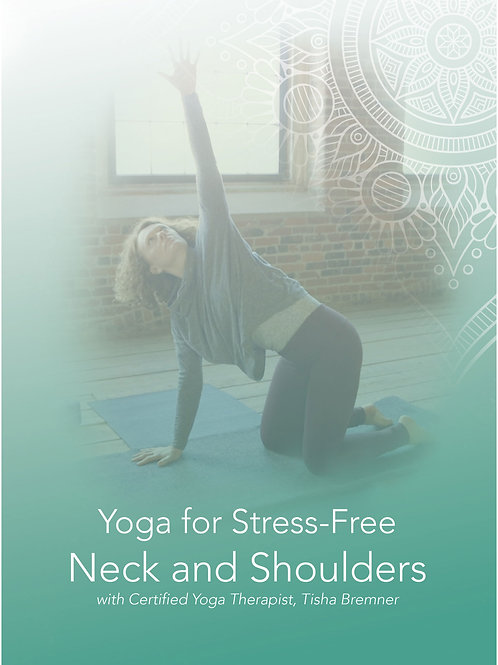 Yoga for Stress-Free Neck and Shoulders DVD