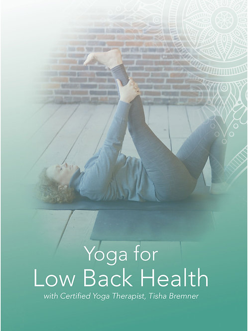 Yoga for Low Back Health DVD