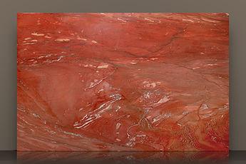 xango red polished quartzite slab