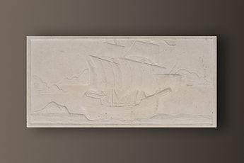 Vratza Embossed Limestone Sculptured Picture