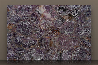 prexury amethyst polished semi-precious slab