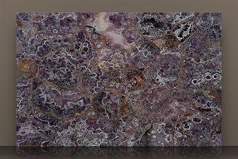 Prexury Amethyst Polished Semi-precious Slab