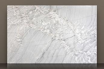picasso polished quartzite backlit slab
