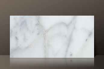 calacatta white polished marble h30 tile