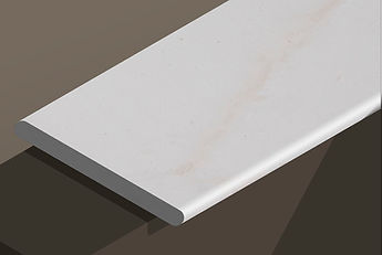 paloma white honed limestone bullnose steps and copings