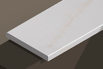 paloma white honed limestone pencil steps and copings