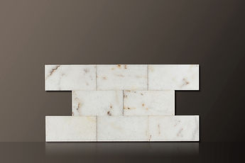 MUGLA WHITE POLISHED MARBLE TILES SET