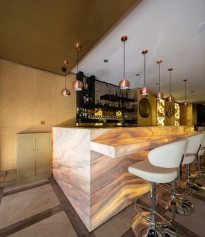 Ruschita Marble Backlit Bar