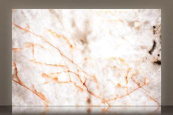 cristallo polished quartzite t3 backlit slab