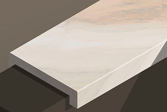ruschita delicata marble downstand steps and copings