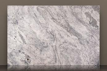 cristalo nuvolato polished quartzite slab