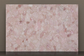 prexury rose polished semi-precious slab