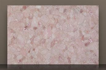 Prexury Rose Polished Semi-precious Slab