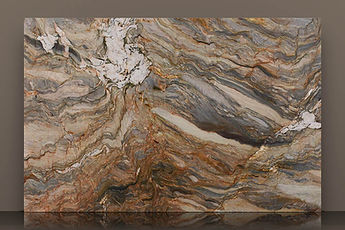 fusion bookmatched polished quartzite t2 slab