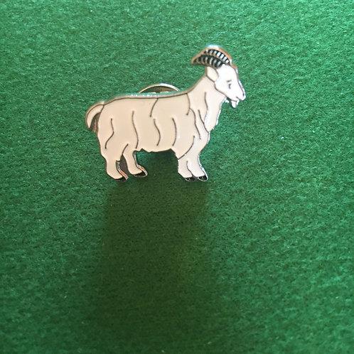 Little goat badge enamel