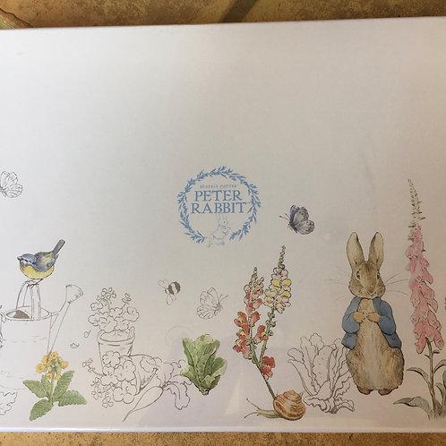 SALE Peter rabbit placemats set of six