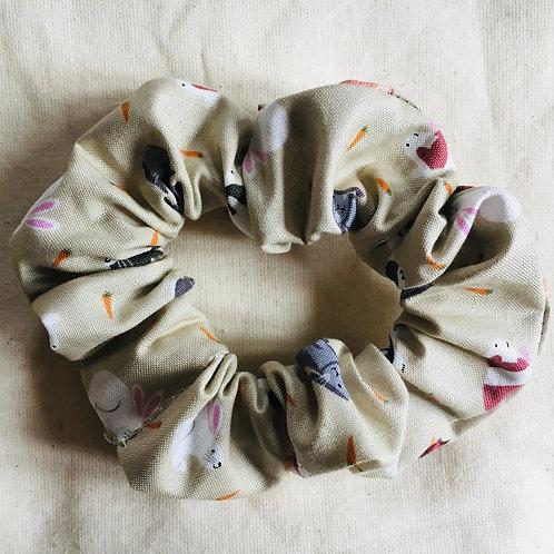 Rabbit and Guinea pig scrunchie handmade