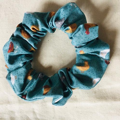 Chicken scrunchie handmade