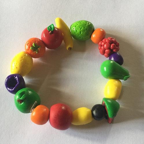 The Norfolk Veg Patch fruit bracelet
