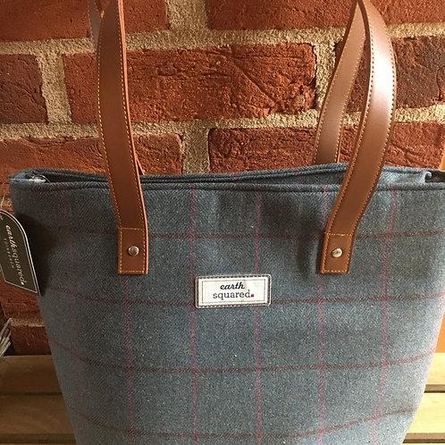 Earth squared Tweed heritage tote bag