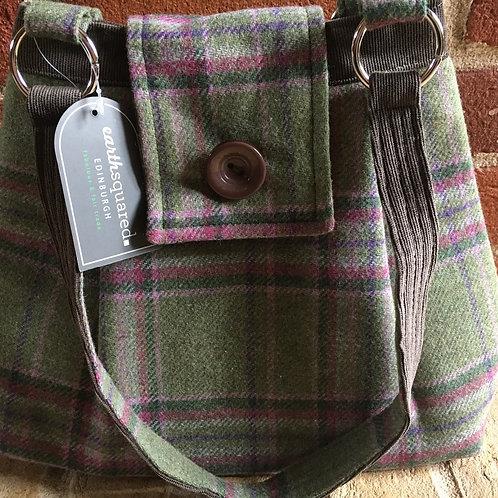 Earth Squared Ava Tweed Bag