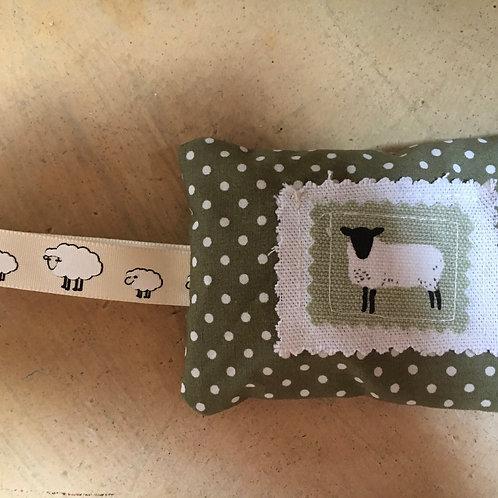 SALE Sheep lavender bag