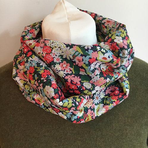 Handmade Liberty Thorpe tana lawn infinity loop scarf