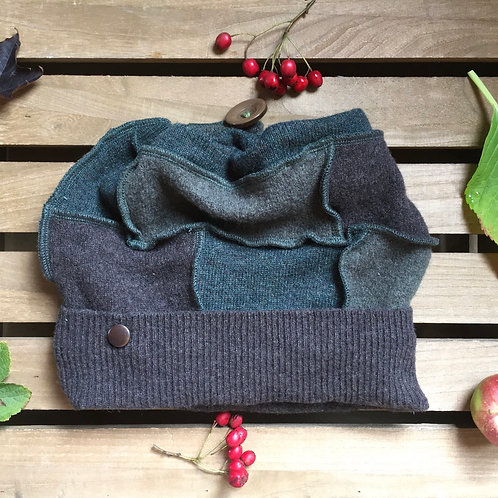 Reloved Woollies recycled hat