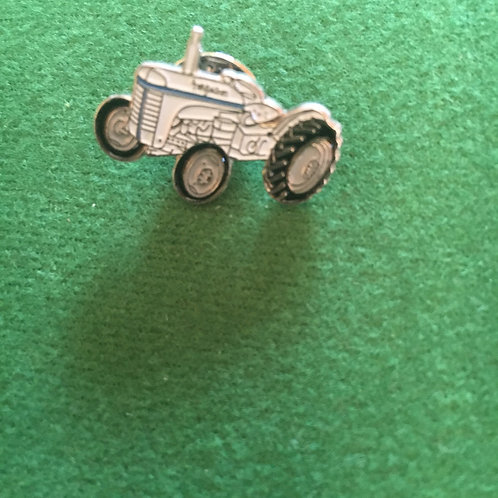 Little grey Fergy badge enamel