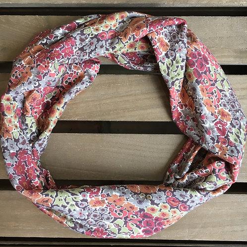 Liberty circular loop lightweight jersey scarf