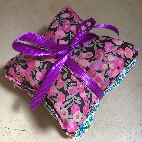 Liberty bundle of 3 lavender bags