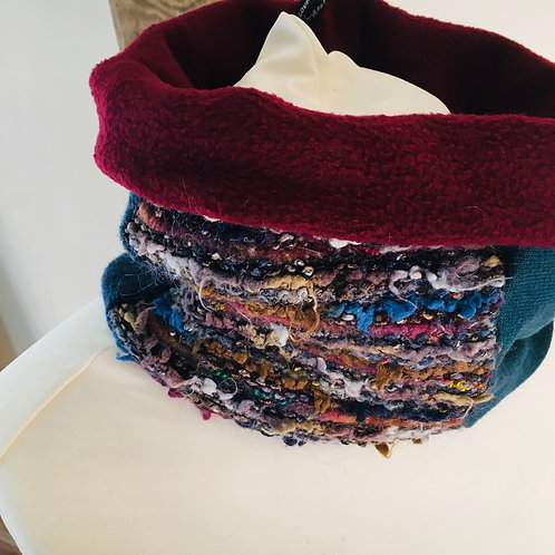 Reloved Woollies recycled neck warmer
