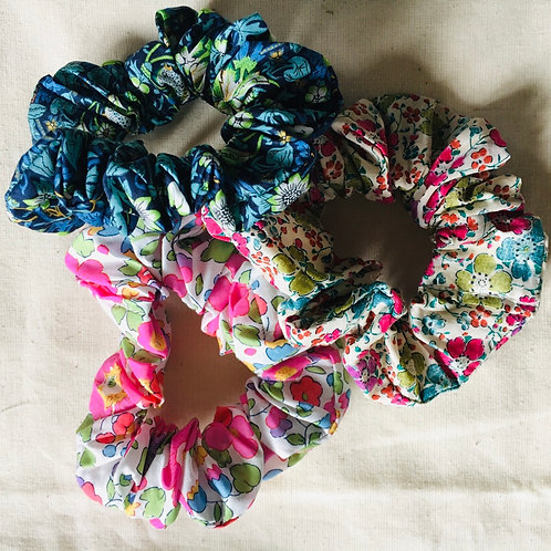 Liberty scrunchie bundle hand made