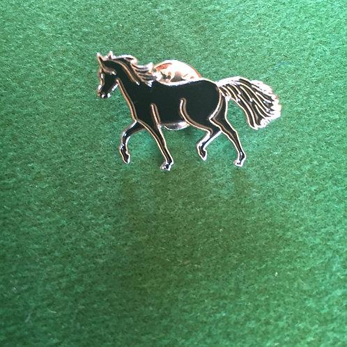Horse lover badge enamel