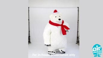 มาสคอต หมีขาว
