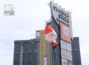 Big Santa Comming to Town