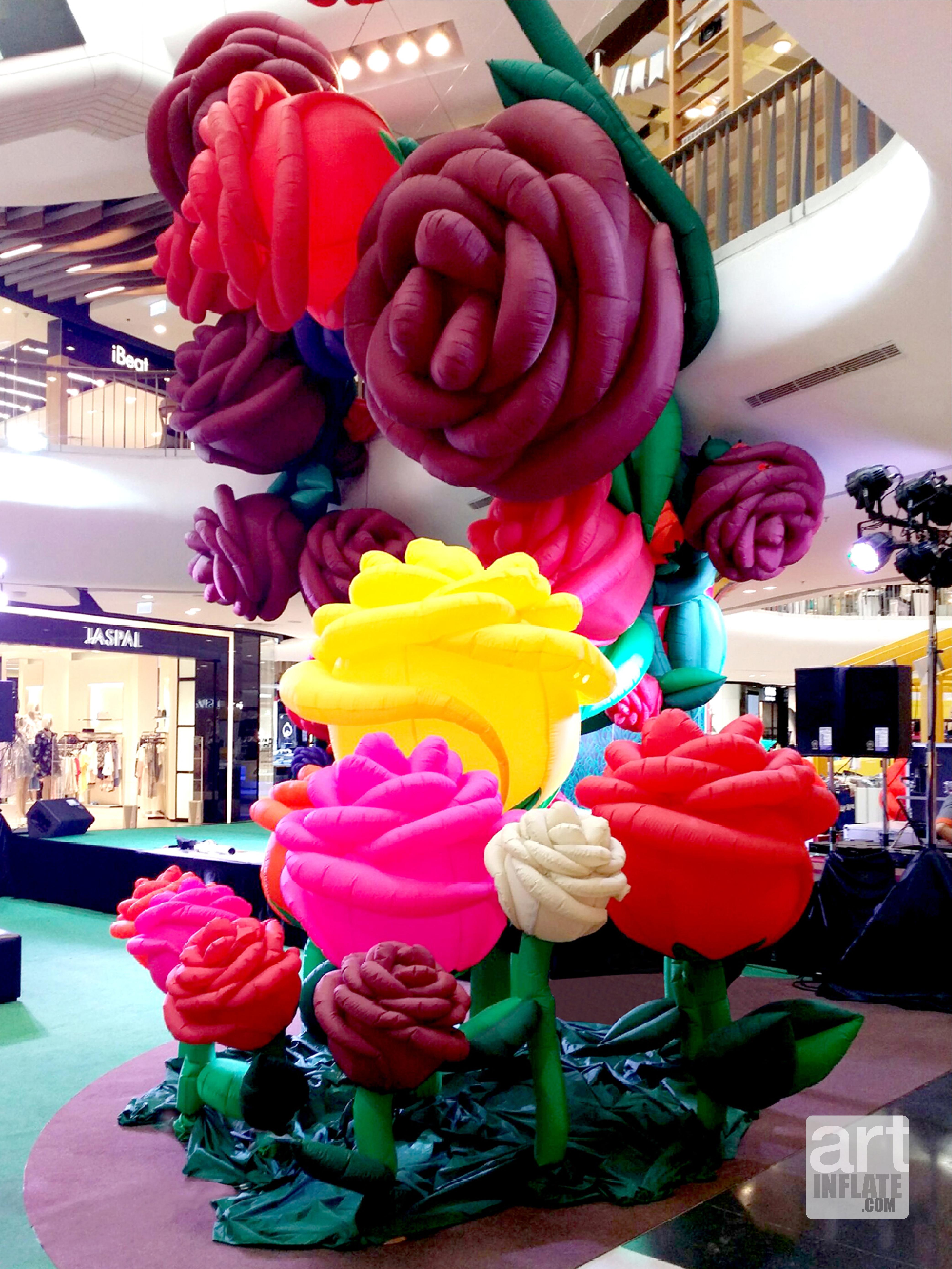 Giant Roses Garden