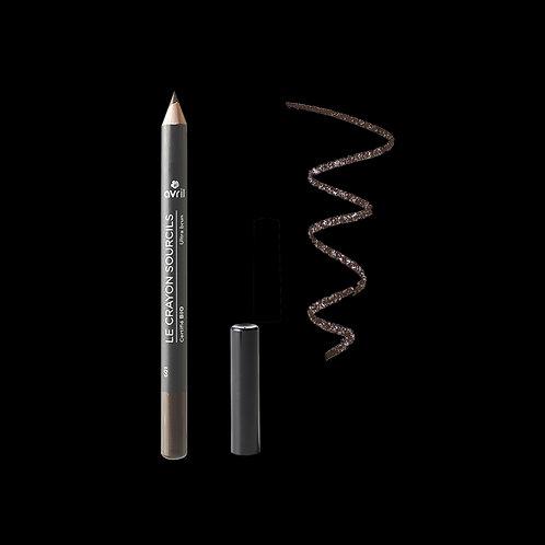 Wenkbrauwpotlood Ultra Bruin Bio Crayon sourcils Ultra Brun Certifié bio