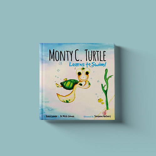 Monty C Turtle Learns to Swim