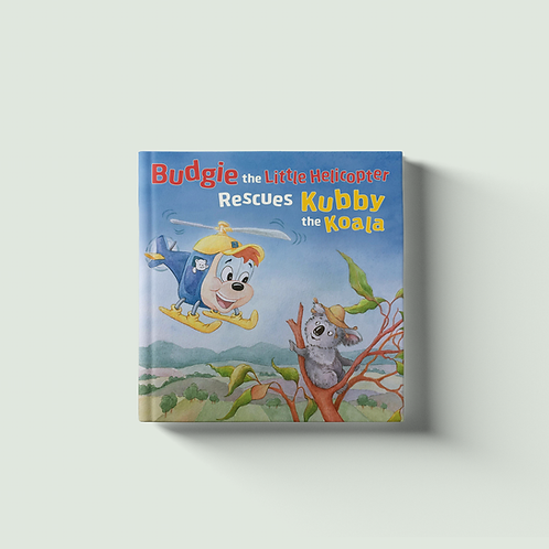 Budgie the Little Helicopter Rescues Kubby the Koala - PRE-ORDER