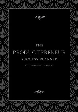 The PRODUCTPRENUER Success Planner