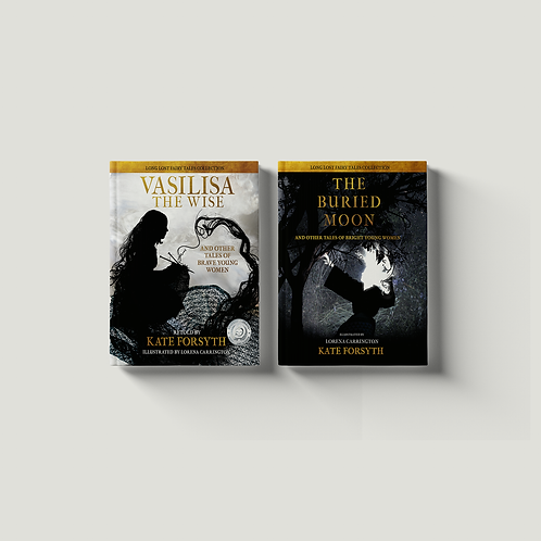Vasilisa the Wise & The Buried Moon Book Twin-Pack
