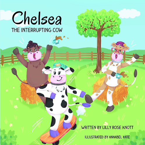Chelsea the Interrupting Cow