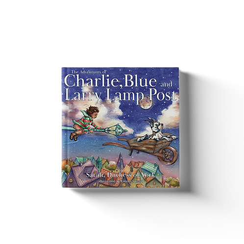 The Adventures of Charlie, Blue and Larry Lamp Post