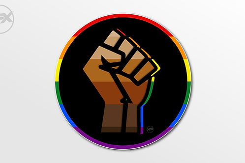 #BlackLivesMatter #Pride Decals