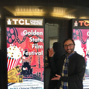 Barry Worthington at Golden State Film Festival Poster, at Chinese 6 Theatres om Hollywodo for BUMMER Screening