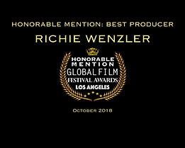 Promo Richie Wenzler Best Producer Honor